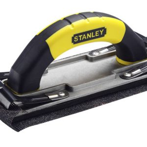 Hand Sander with Improved Clip