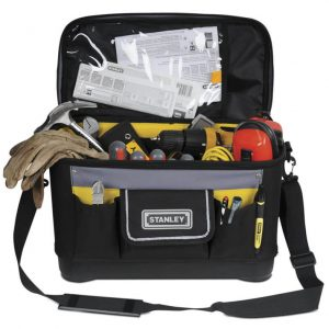 "STANLEY 16"" RIGID MULTIPURP TOOL BAG"