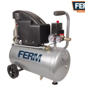 FERM Power Tools Компрессор 24л, 1.1кВт, 230V, ~50Hz цена 5146,7 грн